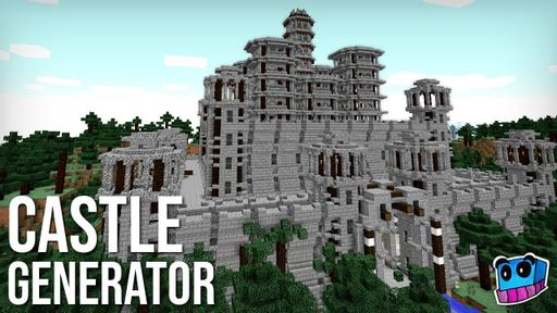 YouTube thumbnail of 'Instant Castle Generator'