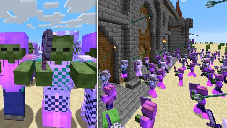 Minecraft Army Mod